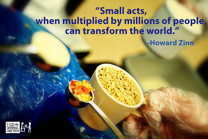 How an Act so Small Can Make a Big Difference