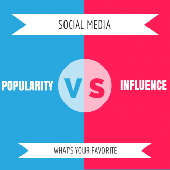 Popularity Vs Influence: Social Media Nation