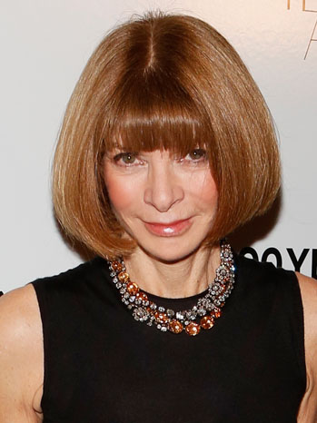 Anna wintour via hollywoodreporter . com