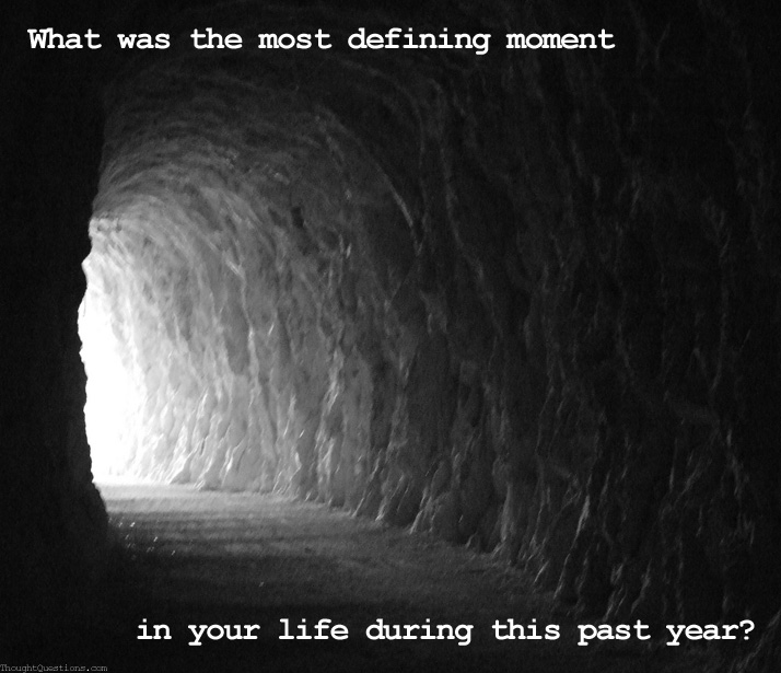 what is the most defining moment