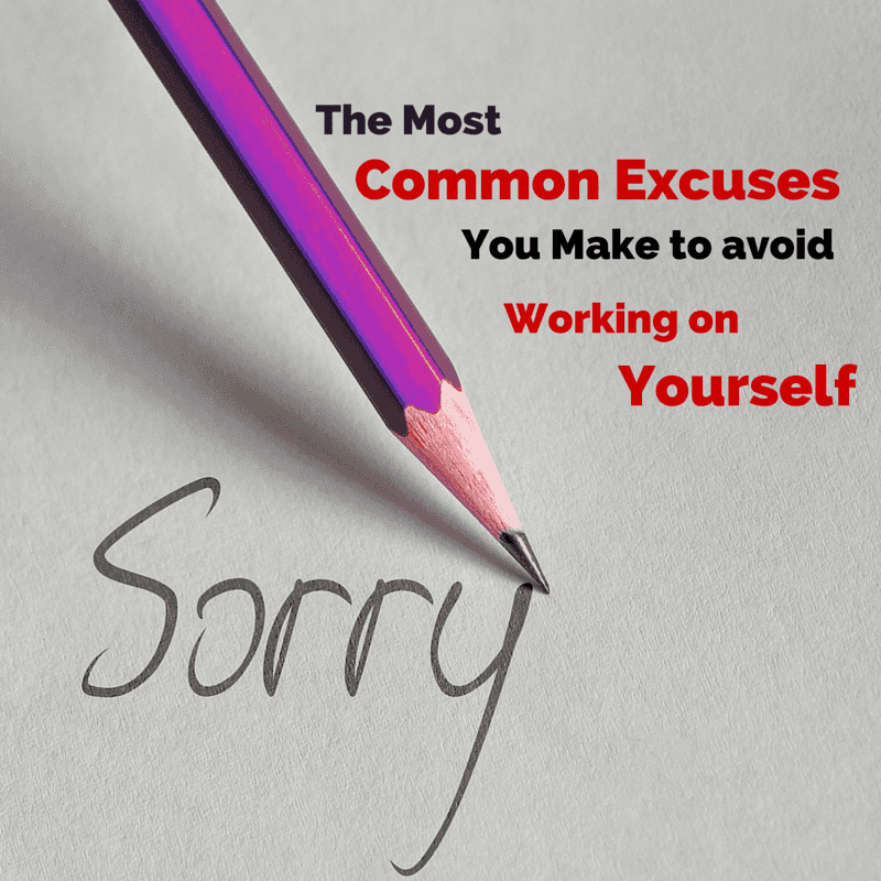 The Most Common Excuses-min