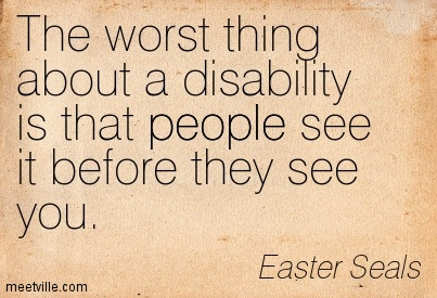 Disability as seen by people