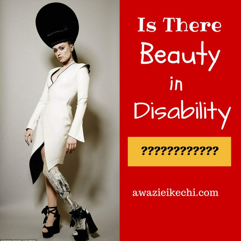 Is there really beauty in disability