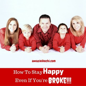 How to Stay Happy Even If You're Broke