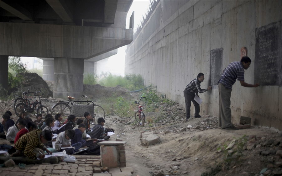Be An Inspiration: A Free School Under The Metro Bridge