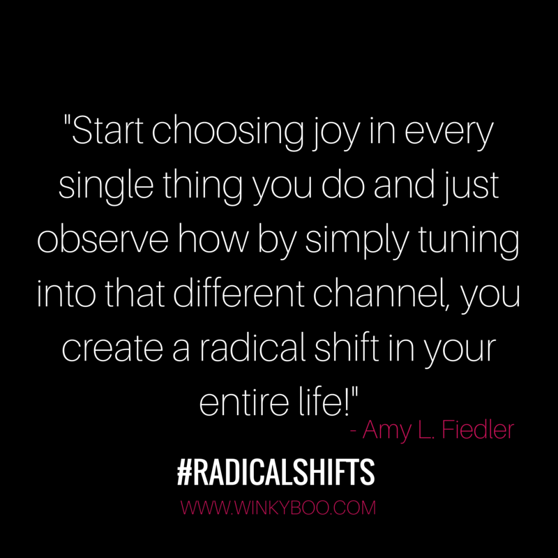 start choosing a joy