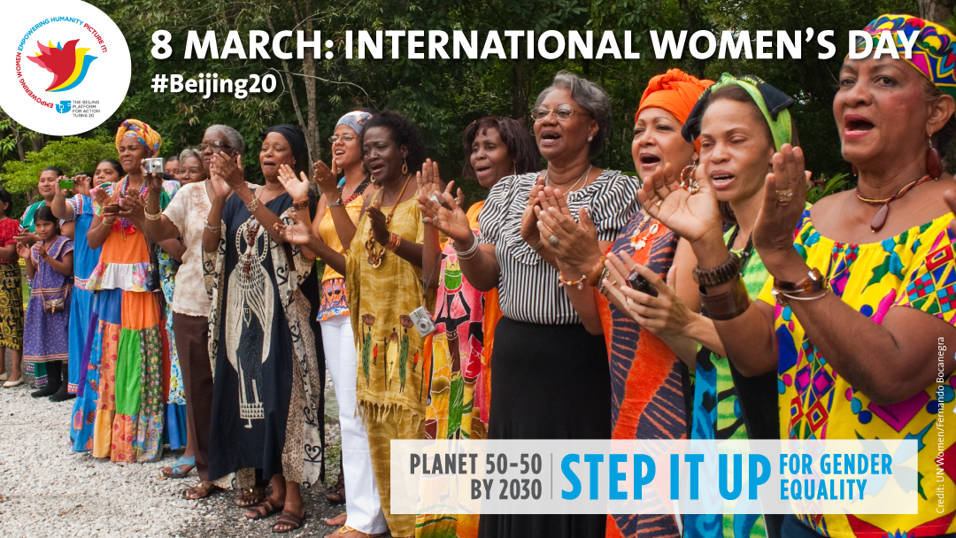 United Nation International Women's Day 2015