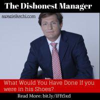 Making A Difference: The Dishonest Manager